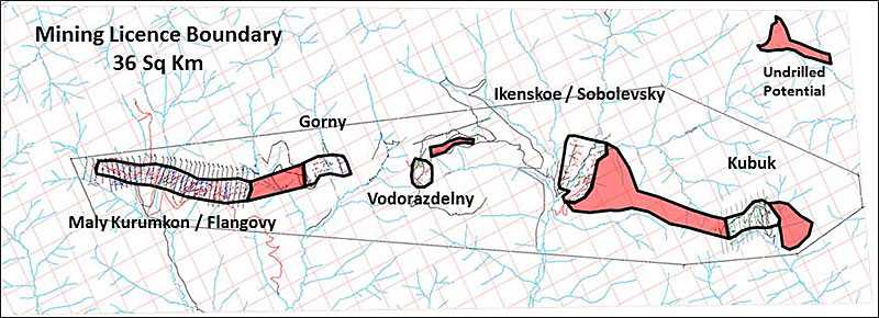 Mining Licence Boundary